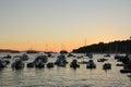 Sunset in Hvar Royalty Free Stock Photo
