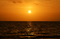 Sunset at Key Largo Florida Royalty Free Stock Photo