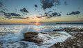 Sunset at la perouse sydney beautiful beach in Stock Photos