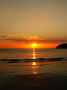 Sunset at langkawi island malaysia southeast asia Stock Photos