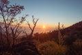 Sunset on the Mauna Kea Royalty Free Stock Photo