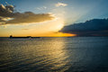 Sunset Over Manila Bay, Seen F...