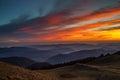 Sunset Over Valleys