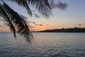 Sunset - Port Vila Royalty Free Stock Photo