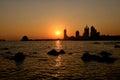 Sunset In Qingdao