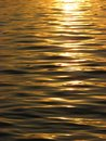 Sunset reflected on the water Royalty Free Stock Photo