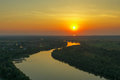 Sunset River Nature