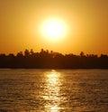 Sunset At River Nile