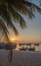 Sunset sea coast view at Koh Tao island , Samui, Thai Royalty Free Stock Photo