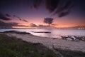 Sunset skies over botany Bay