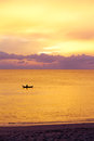Sunset in Thailand Royalty Free Stock Photo