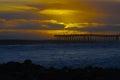 Sunset Ventura Pier Royalty Free Stock Photo