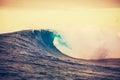 Sunset Wave Royalty Free Stock Photo