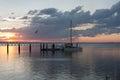 Sunset in Wyndham, Western Australia