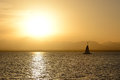 Sunset yachts red sea hurghada egypt Royalty Free Stock Images