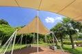 Sunshade at gulangyu islet Royalty Free Stock Photo
