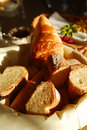 Sunshine Baguette bread Royalty Free Stock Photo