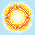 Sunshine. Vector. Royalty Free Stock Photos