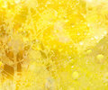 Sunshine Yellow Floral Background Stock Image