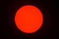 Sunspots Royalty Free Stock Photo