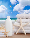 Suntan Lotion Stock Photo