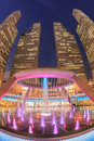 Suntec city singapore march fountain of wealth at in Stock Images