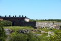 Suomenlinna fortress in helsinki finland buildings one of the famous landmarks Royalty Free Stock Image