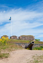 Suomenlinna fortress view of finland Stock Photos