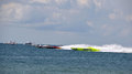 Super boat offshore races hooters twisted metal geico this is a photo of and in an race Royalty Free Stock Photos