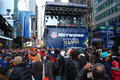 Super bowl boulevard new york city times square in nyc is transformed into for xlvii february Stock Image
