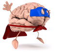 Super brain Royalty Free Stock Image