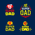 Super Dad emblems