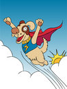 Super Dog! Stock Images