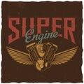 Super Engine Poster