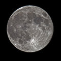 Super Full Moon Royalty Free Stock Photo