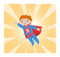 Super hero_kid II Stock Image
