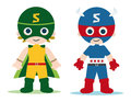 Super heroe kids Royalty Free Stock Photos