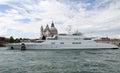 Super luxury yacht Royalty Free Stock Photo