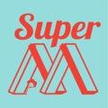 SUPER MOM Royalty Free Stock Photo