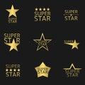 Super Star Royalty Free Stock Photo