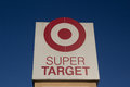 Super target jacksonville fl march a sign in jacksonville corporation is the second largest discount retailer in the united Royalty Free Stock Photography