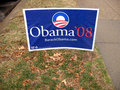 Super Tuesday Campaign Sign Royalty Free Stock Photo