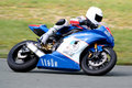 Superbike racer Royalty Free Stock Photos