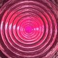 Superficie rosada del hielo 3D-Dark Foto de archivo libre de regalías