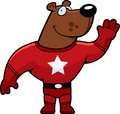 Superhero Bear Royalty Free Stock Photo
