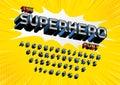 Superhero font