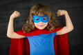 Superhero kid Royalty Free Stock Photo