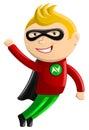Superhero Mascot - Nitro Boy Royalty Free Stock Photography