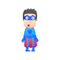 Superhero in various poses for use advertising presentations brochures blogs documents and forms etc Stock Photography