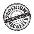 Superior quality grunge rubber stamp black with the text written with black letters Royalty Free Stock Photo